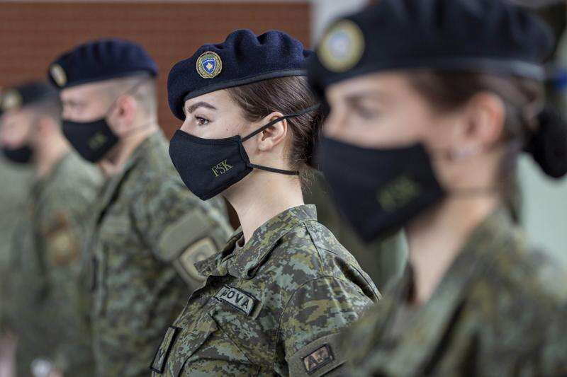 First-time Kosovo peacekeeping troops under command of Iowa National Guard