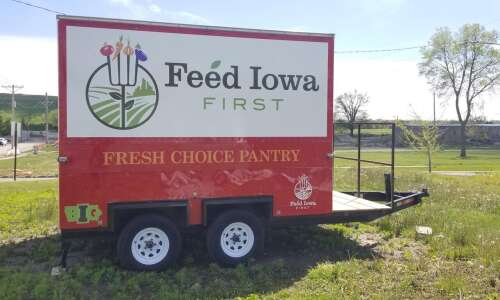 Mobile food pantry will offer fresh produce in downtown CR