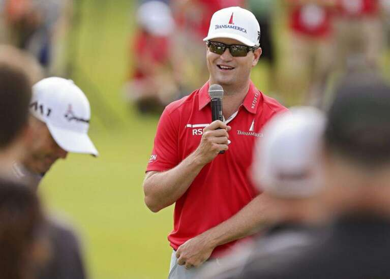 Zach Johnson named vice captain for U.S. Ryder Cup team