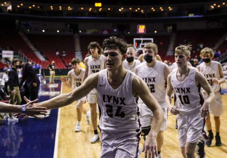 Respect on both sides as Montezuma and North Linn square off for Class 1A boys' state basketball championship