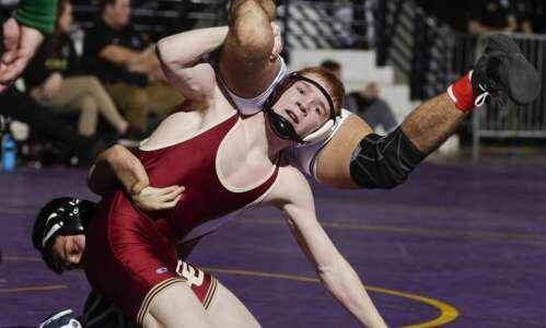 Coe wrestler Brock Henderson remains driven despite past disappoints