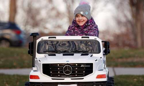 Battling a rare cancer will change this Cedar Rapids 8-year-old's…