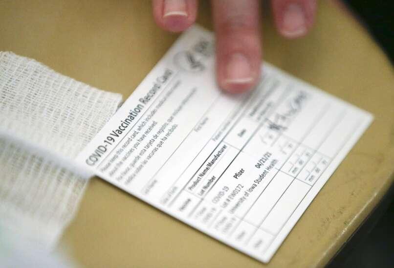 Thousands vaccinated across Iowa universities