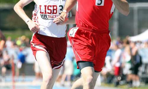 Keiffer Sexton captures Highland's first individual state track title since…