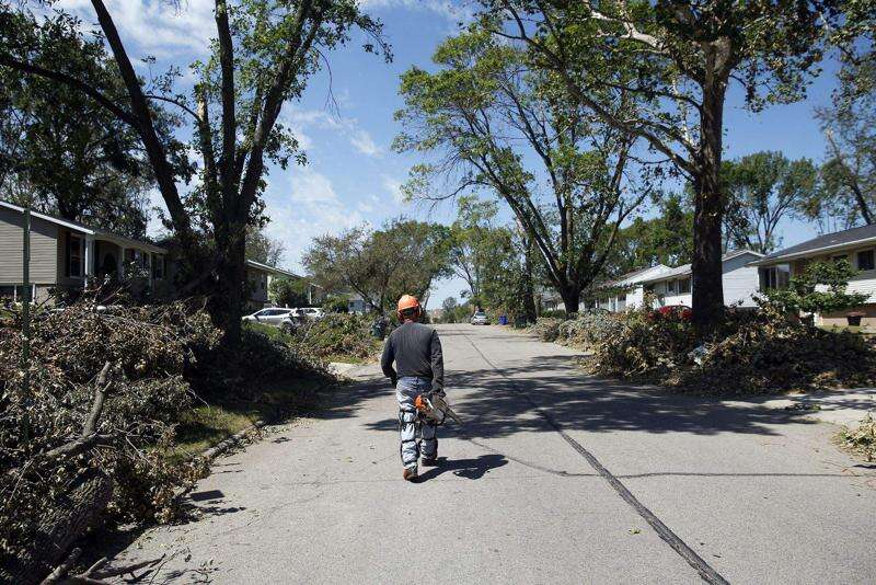 Iowa storm updates: Latest info on recovery efforts in the Cedar Rapids area, Aug. 25