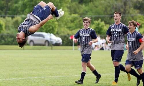 2 matches, 2 shutouts for Cedar Rapids Xavier at boys'…