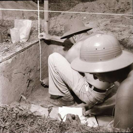 Time Machine: Ancient mounds near Toolesboro