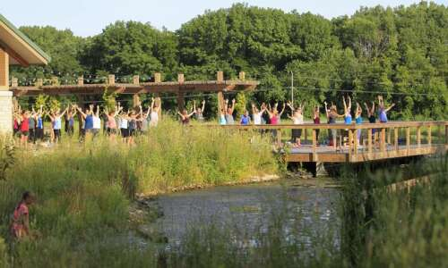 Indian Creek Nature Center offers visitors a way to de-stress