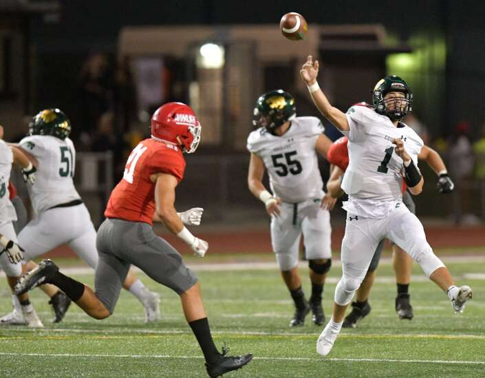 Kennedy's Carson Blietz has a defensive last name, but is a quarterback — and a good one