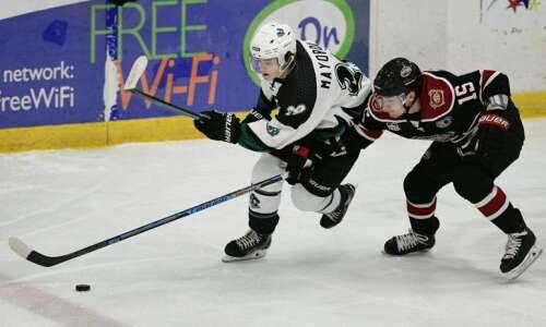 Nikolai Mayorov eases into life, hockey in America, leads Cedar…