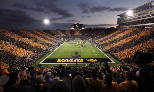 The first 'stripe Kinnick' game