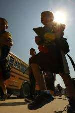 High temps mean early dismissals for schools