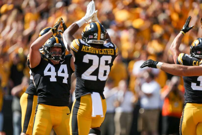"""Iowa football has safety in numbers with """"11 Hats"""" defense"""