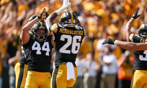 """Safety in numbers for """"11 Hats"""" Hawkeye defense"""