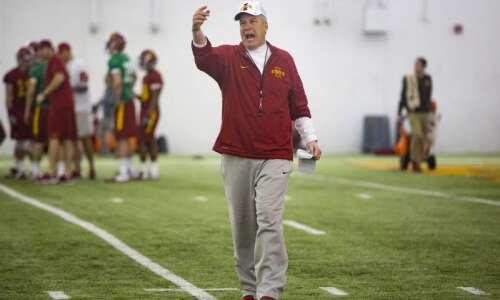 Iowa State defensive coordinator Jon Heacock isn't satisfied yet