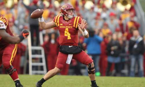 Iowa State football notes: Zeb Noland fills in admirably at…