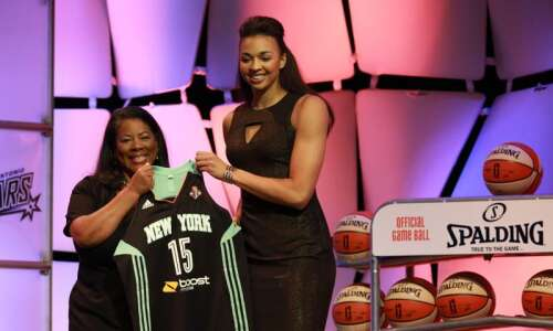Kiah Stokes' 3rd WNBA season begins Saturday