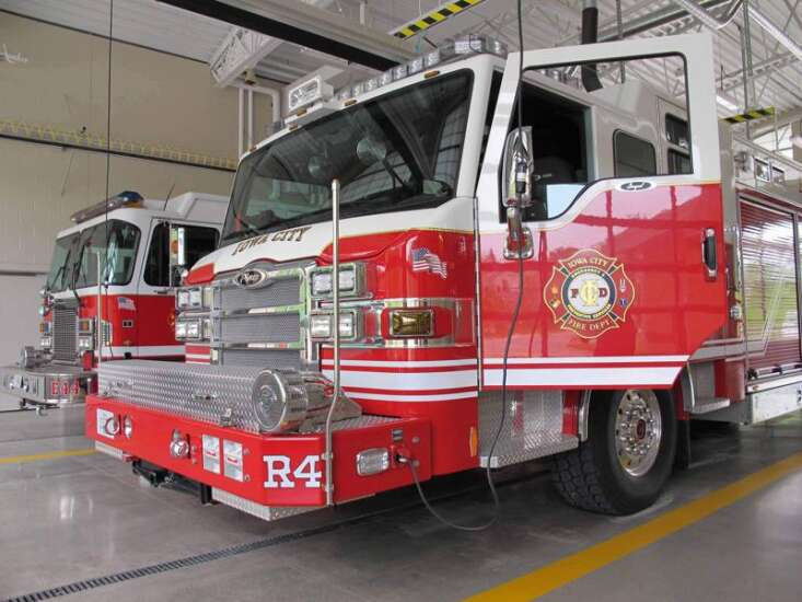 Iowa City Fire Department and American Red Cross team up to provide smoke alarms in South District