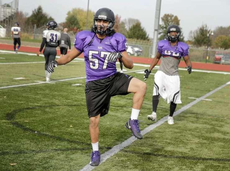 Australian Peni Waqairatu comes to Cornell College to play football, dance
