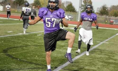 Australian Peni Waqairatu comes to Cornell College to play football,…
