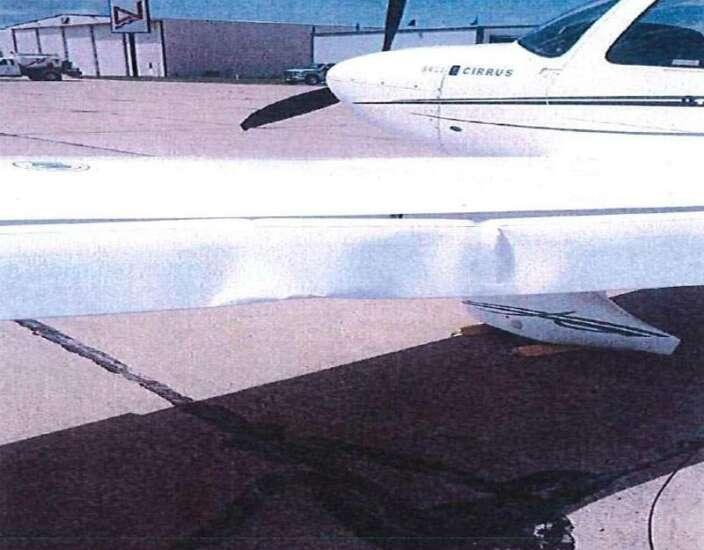 Iowa State University sells plane involved in Leath hard landing