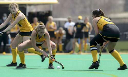 Iowa field hockey prepares for the Final Four