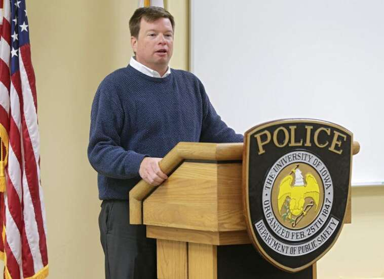 University of Iowa police director demoted after interference reports