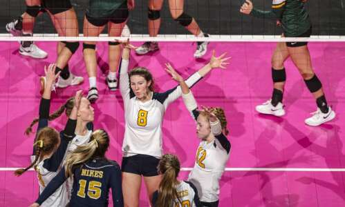 Burlington Notre Dame's first state volleyball appearance will end in…