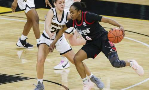 Iowa women's basketball shuts down Nebraska in 4th to win…