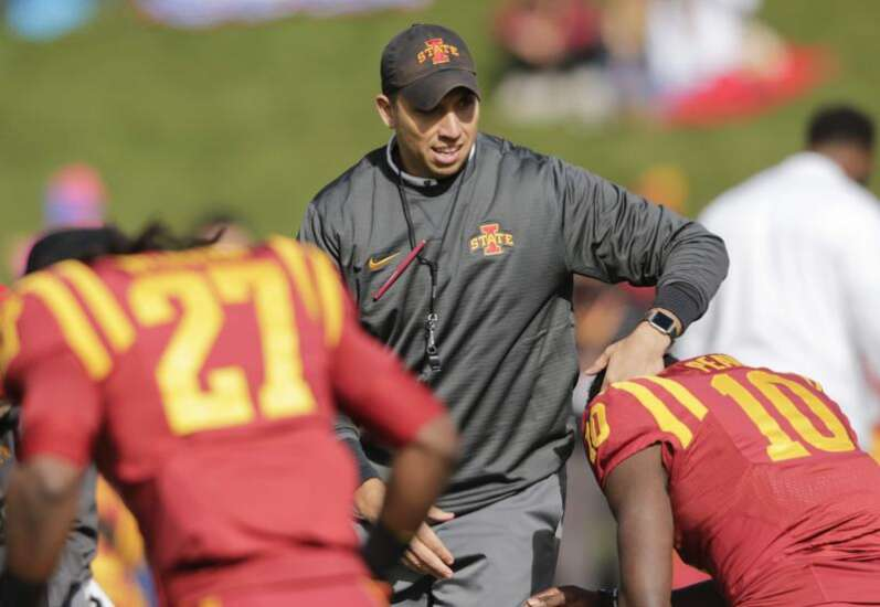 Iowa State's Matt Campbell named Big 12 Coach of the Year