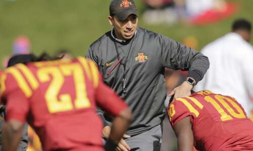 Iowa State's Matt Campbell named Big 12 Coach of the…