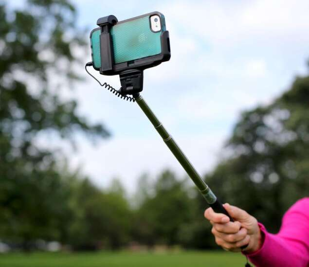 To selfie stick, or not to selfie stick?