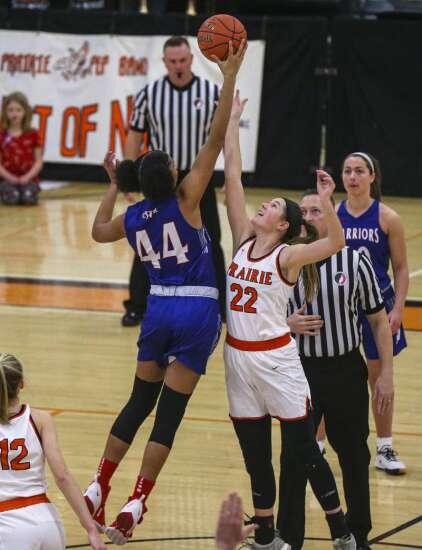 Photos: Prairie vs. Cedar Rapids Washington, Iowa high school girls' basketball