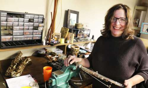 Millar Woodwind Repair allows for tinkering, aiding community