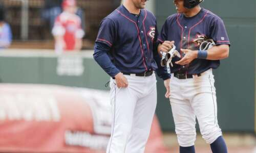 Cedar Rapids Kernels lose for first time this season under…