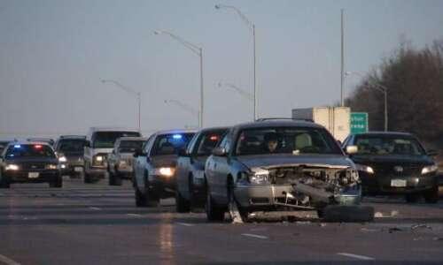No one hurt in chain-reaction Interstate 380 crash