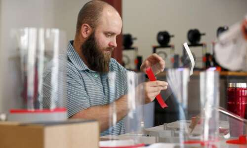 NewBoCo, local businesses, schools use 3D printers to make face…