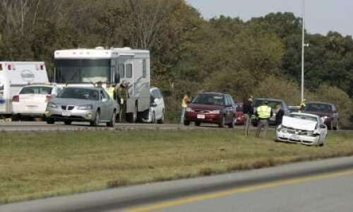 Interstate 380 traffic flowing again after crash