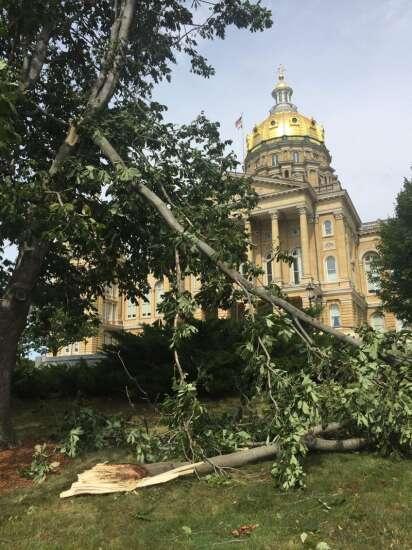Photos: Iowa derecho damage across Eastern Iowa, Aug. 10, 2020