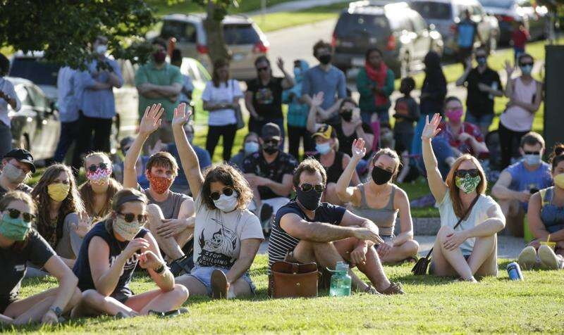 From Interstate 80, protesters issue racial justice demands