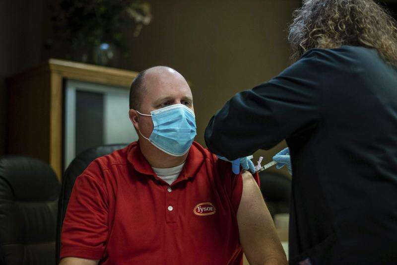 Thousands of meatpacking workers to be vaccinated this week