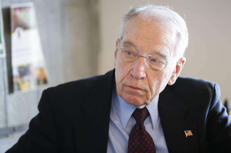 Grassley undecided about running for re-election in 2022