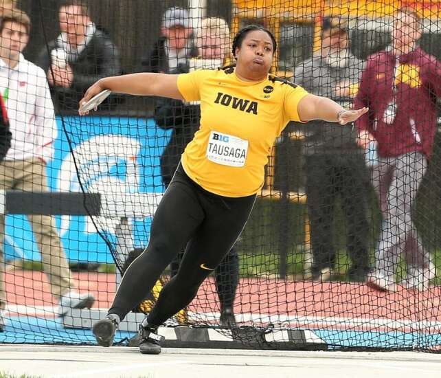 Iowa eyes Top 10 finish at NCAA track and field meet