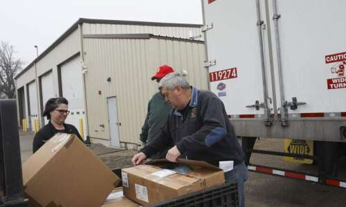 Massive mask delivery helps Johnson County hospitals