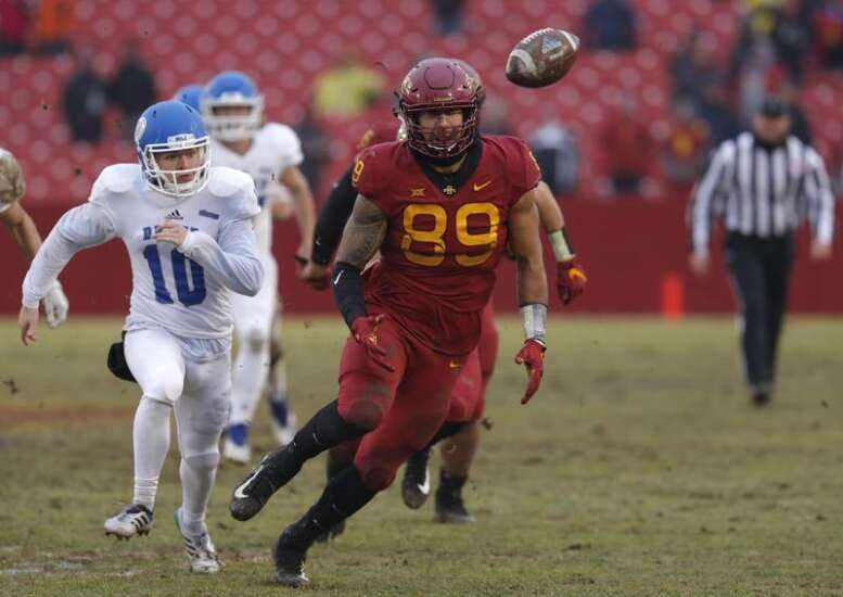 Matt Leo shows just how much he's learned in senior season at Iowa State
