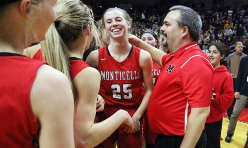 Monticello takes a full head of steam into girls' basketball…