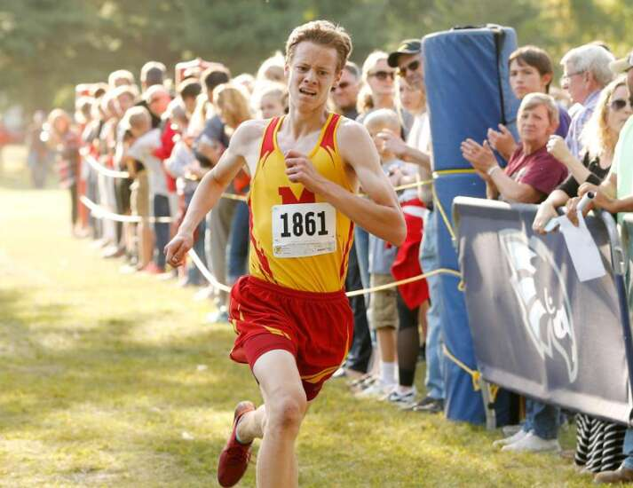 Marion's Jeremy Fopma and CPU's Adrianna Katcher cruise to Wamac cross country crowns