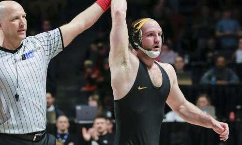 Iowa's Alex Marinelli earns USA Wrestling's weekly honor