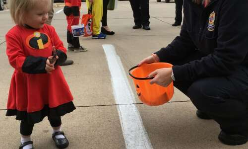 Show off your costume at Friday's Marion Halloween Fashion Show