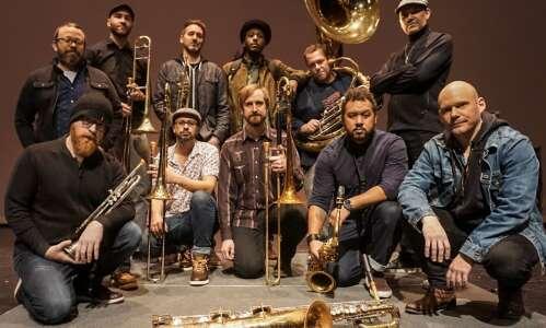 LowDown Brass Band bringing funky brew to Cedar Rapids